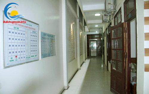 Hành lang khách sạn Vân Thành Sầm Sơn