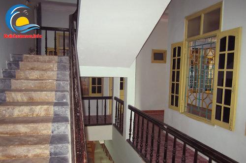 Hành lang tại khách sạn Thanh Lan Sầm Sơn