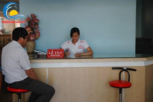 Lễ tân khách sạn Bình Nguyên Sầm Sơn