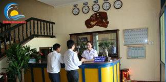 Lễ tân khách sạn Hồ Gươm Sầm Sơn