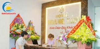 Lễ tân khách sạn Hoàng Kim Sầm Sơn