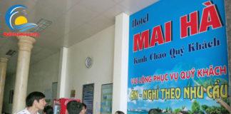Lễ tân khách sạn Mai Hà Sầm Sơn