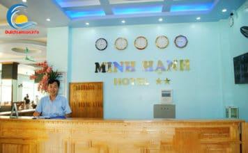 Lễ tân khách sạn Minh Hạnh Sầm Sơn