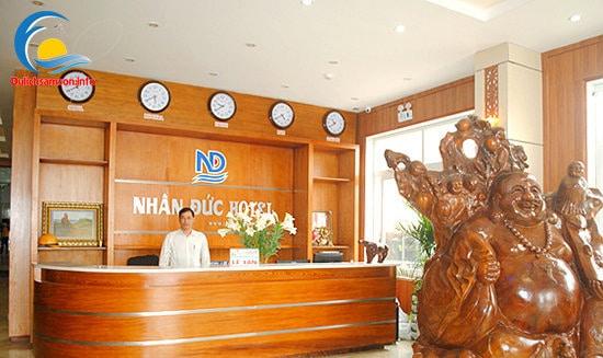Lễ tân khách sạn Nhân Đức Sầm Sơn