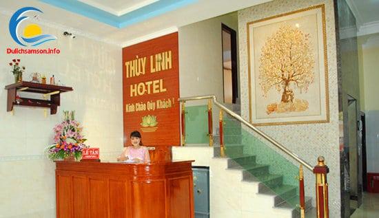Lễ tân Khách sạn Thùy Linh Sầm Sơn