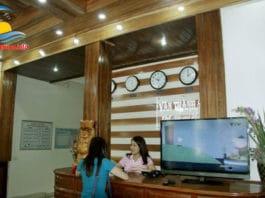 Lễ tân khách sạn Vân Thành Sầm Sơn