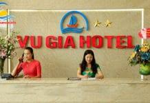 Lễ tân khách sạn Vũ Gia Sầm Sơn