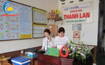 Lễ tân khách sạn Thanh Lan Sầm Sơn