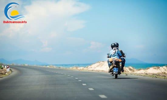 Lựa chọn phương tiện xe máy đi du lịch Sầm Sơn