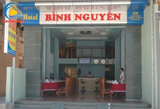 Mặt tiền khách sạn Bình Nguyên Sầm Sơn