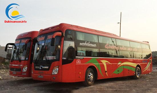 Nhà xe Thắng Thanh Sầm Sơn chạy liên tục trong ngày
