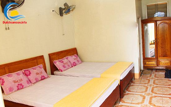 Nội thất phòng nghỉ khách sạn Minh Vân Sầm Sơn