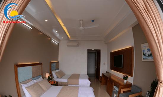 Nội thất phòng nghỉ khách sạn Thanh Long Sầm Sơn