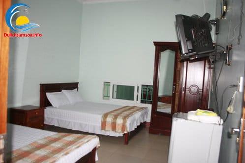 Nội thất phòng nghỉ Khách sạn Bình Nguyên Sầm Sơn
