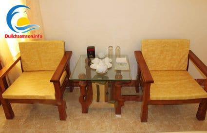 Nội thất phòng nghỉ khách sạn Bộ Tư Lệnh Lăng Sầm Sơn