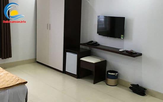 Nội thất phòng nghỉ khách sạn Hoàng Kim Sầm Sơn