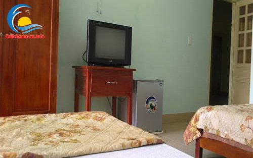 Nội thất phòng nghỉ Khách sạn Hoàng Long Sầm Sơn