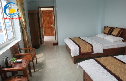 Nội thất phòng nghỉ khách sạn Kim Xuyến Sầm Sơn