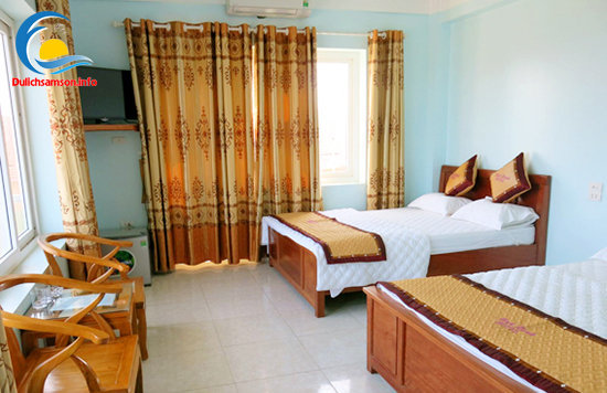 Nội thất phòng nghỉ khách sạn Minh Hạnh Sầm Sơn