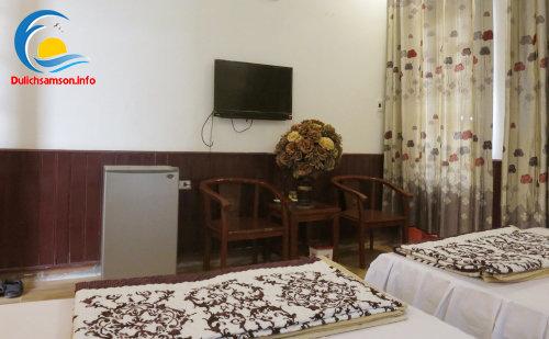 Nội thất phòng nghỉ khách sạn Ngọc Lan Sầm Sơn