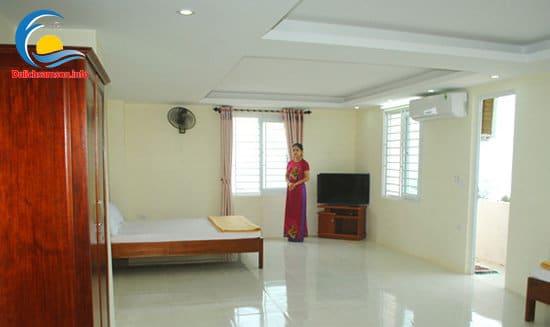 Nội thất phòng nghỉ khách sạn Phú Hồng Sầm Sơn