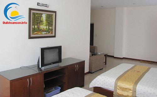 Nội thất phòng nghỉ khách sạn Royal 3 Sầm Sơn