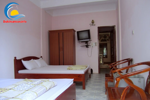 Nội thất phòng nghỉ khách sạn Sao Biển Sầm Sơn
