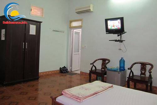 Nội thất phòng nghỉ tại khách sạn Thanh Lan Sầm Sơn