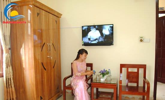 Nội thất phòng nghỉ Khách sạn Thùy Linh Sầm Sơn