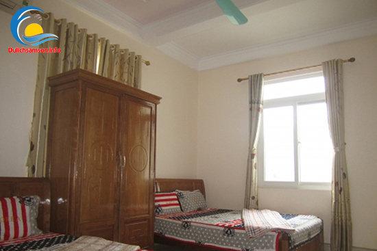 Nội thất phòng nghỉ Khách sạn Trung Lan Sầm Sơn