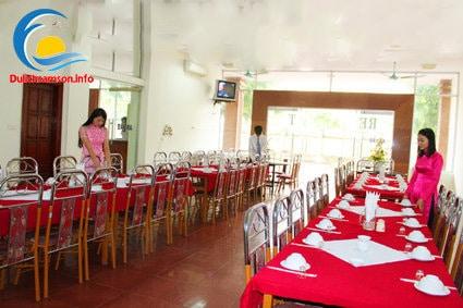 Phòng ăn khách sạn Bia Thanh Hoa Sầm Sơn
