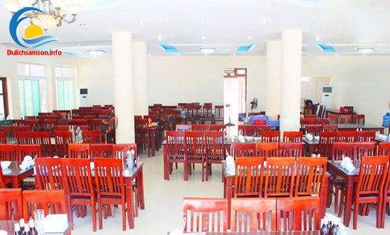 Phòng ăn khách sạn Bộ Ngoại Giao Sầm Sơn