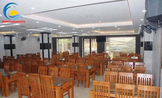 Phòng ăn khách sạn Hoàng Kim Sầm Sơn