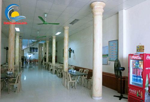 Phòng ăn khách sạn Mai Hà Sầm Sơn