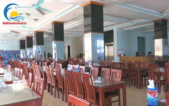 Phòng ăn khách sạn Minh Hạnh Sầm Sơn