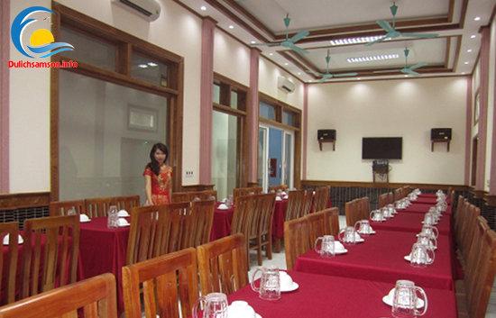 Phòng ăn Khách sạn Trung Lan Sầm Sơn
