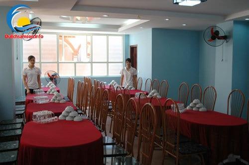 Phòng ăn lạnh Khách sạn Bình Nguyên Sầm Sơn