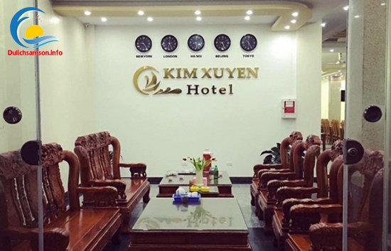 Phòng khách khách sạn Kim Xuyến Sầm Sơn