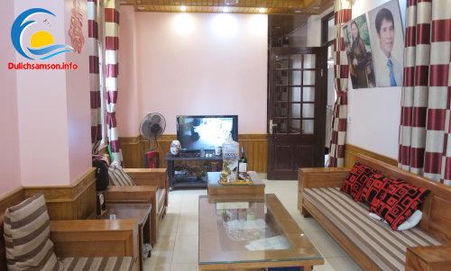 Phòng khách khách sạn Ngọc Lan Sầm Sơn