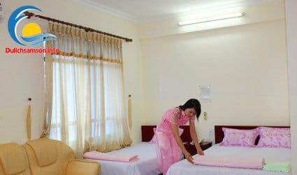 Phòng nghỉ khách sạn Bia Thanh Hoa Sầm Sơn