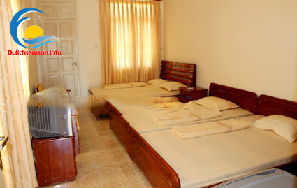 Phòng nghỉ khách sạn Bộ Tư Lệnh Lăng Sầm Sơn