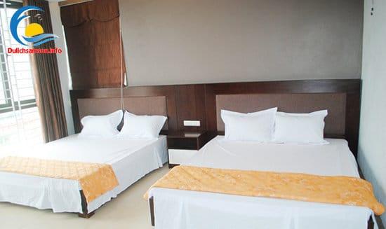 Phòng nghỉ khách sạn Hoàng Kim Sầm Sơn