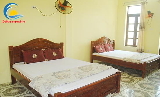 Phòng nghỉ khách sạn Khánh Hưng Sầm Sơn