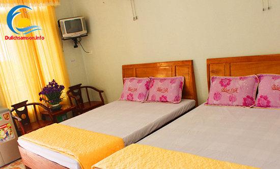 Phòng nghỉ khách sạn Minh Vân Sầm Sơn