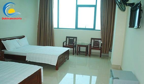 Phòng nghỉ khách sạn Nhân Đức Sầm Sơn