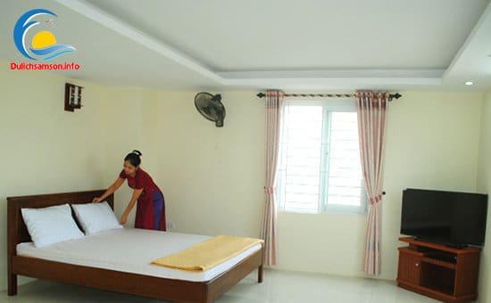 Phòng nghỉ khách sạn Phú Hồng Sầm Sơn