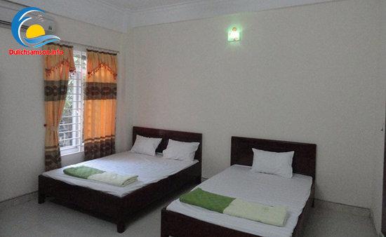 Phòng nghỉ Khách sạn Quang Minh Sầm Sơn