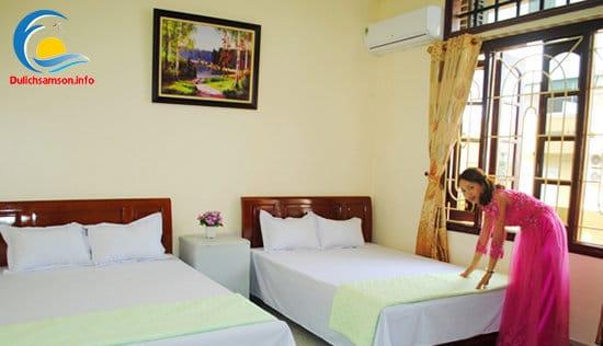 Phòng nghỉ Khách sạn Thùy Linh Sầm Sơn