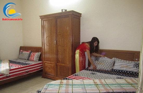 Phòng nghỉ Khách sạn Trung Lan Sầm Sơn