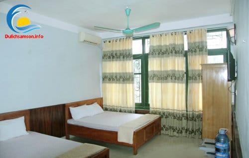 Phòng nghỉ khách sạn Vân Thành Sầm Sơn